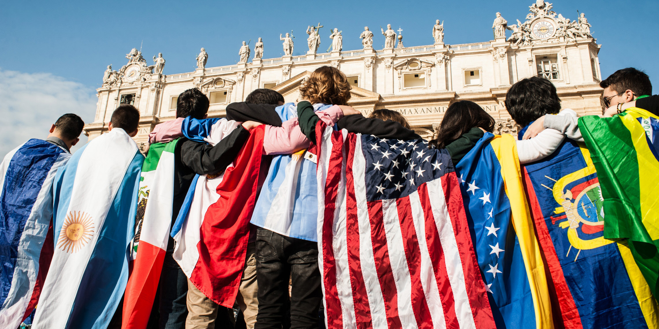 ST PETER FLAGS