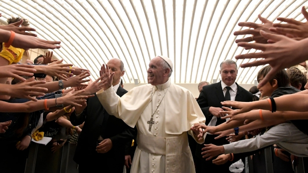 POPE HANDS