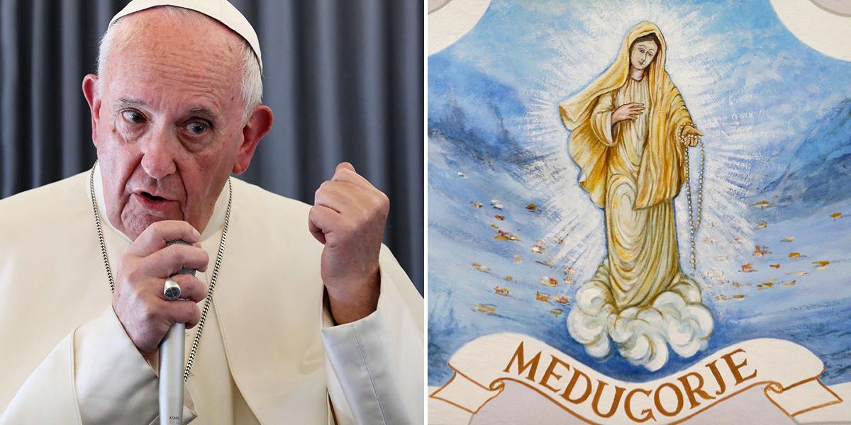 POPE MEDJUGORIE