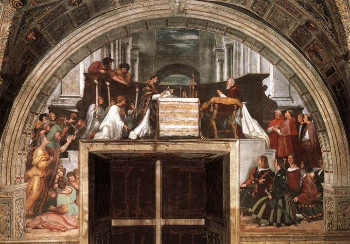 La Messe de Bolsena de Raphaël