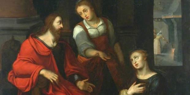 BETHANIE; SAINTE MARTHE; MARIE; CHRIST