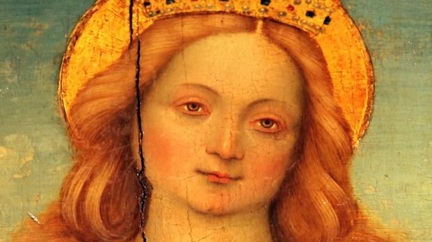 PORTRAIT DE CATHERINE D'ALEXANDRIE