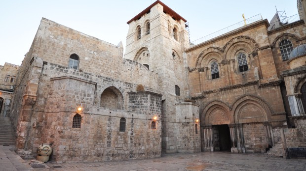 HOLY SEPULCHRE; JERUSALEM; JESUS; TPC; MARTYRIUM
