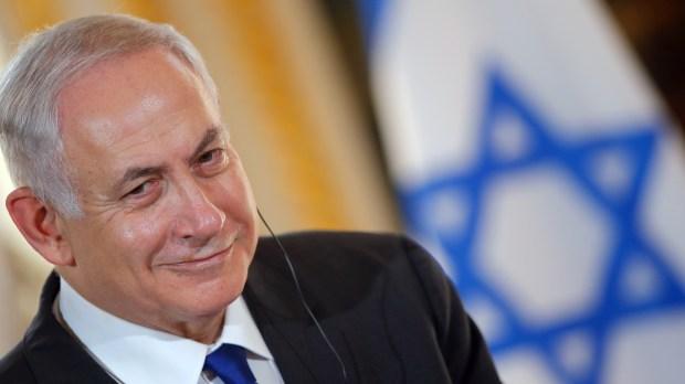 BENJAMIN NETANYAHU; ISRAEL; PRIME MINISTER; PARIS; FRANCE; VISIT;