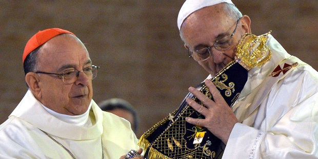 OUR LADY APARECIDA POPE FRANCIS