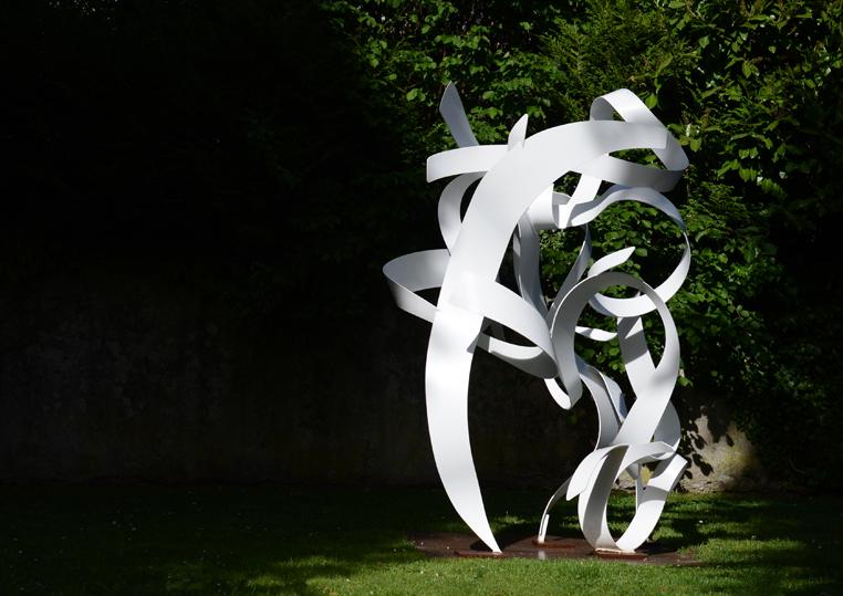 Benoit  Lemercier,  D'un  infini  à  l'autre,  sculpture.