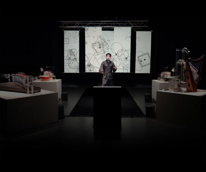 Saint-Bernard de La Chapelle (18e) : Junkaï Chen, Correspondance, performance chorégraphique,  vidéo  interactive.