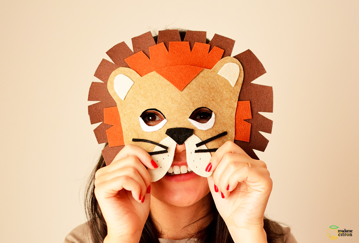 DIY MASQUE LION