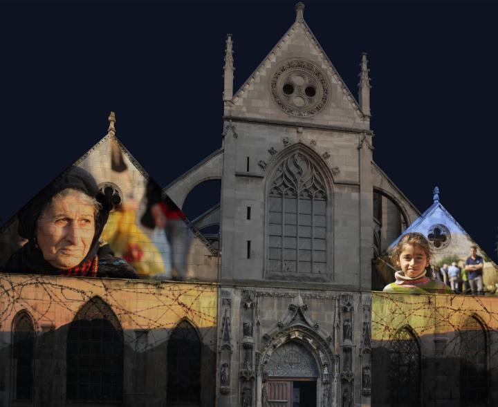 Saint-Nicolas-des-Champs (3e ) : Agnès Winter, Ninive, performance visuelle et sonore.