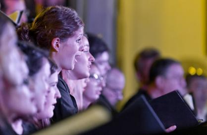 Notre-Dame-des-Blancs-Manteaux (4e) : Acœurvoix, Des voix dans la nuit, performances  musicales.
