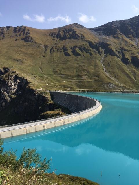Le barrage de Moiry