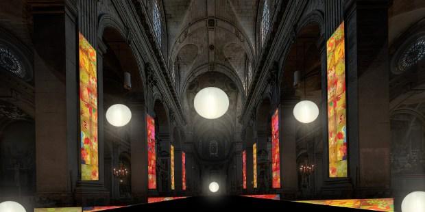 Saint-Sulpice (6e) : Ryszard Kiwerski, Solaires