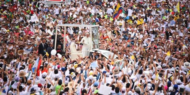 VILLAVINCENCIO,POPE FRANCIS,COLOMBIA