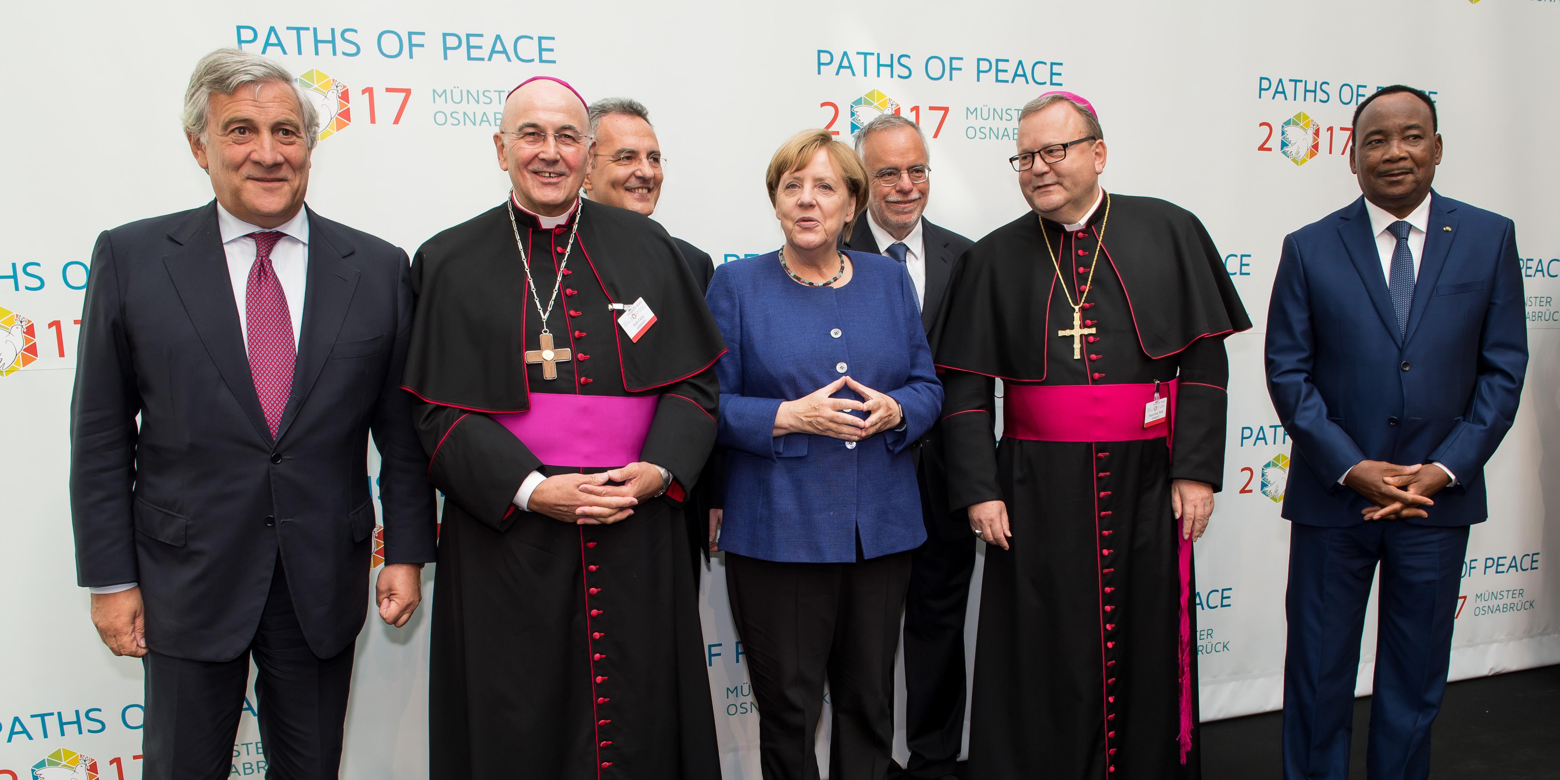 MERKEL PATH FOR PEACE