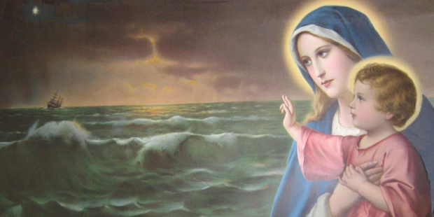 MARY,STAR OF THE SEA,STELLA MARIS