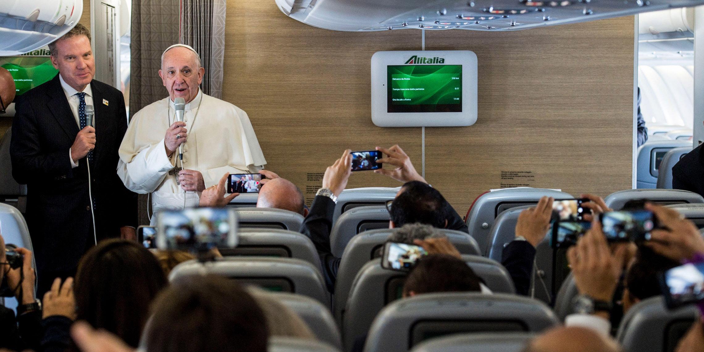 POPE PLANE