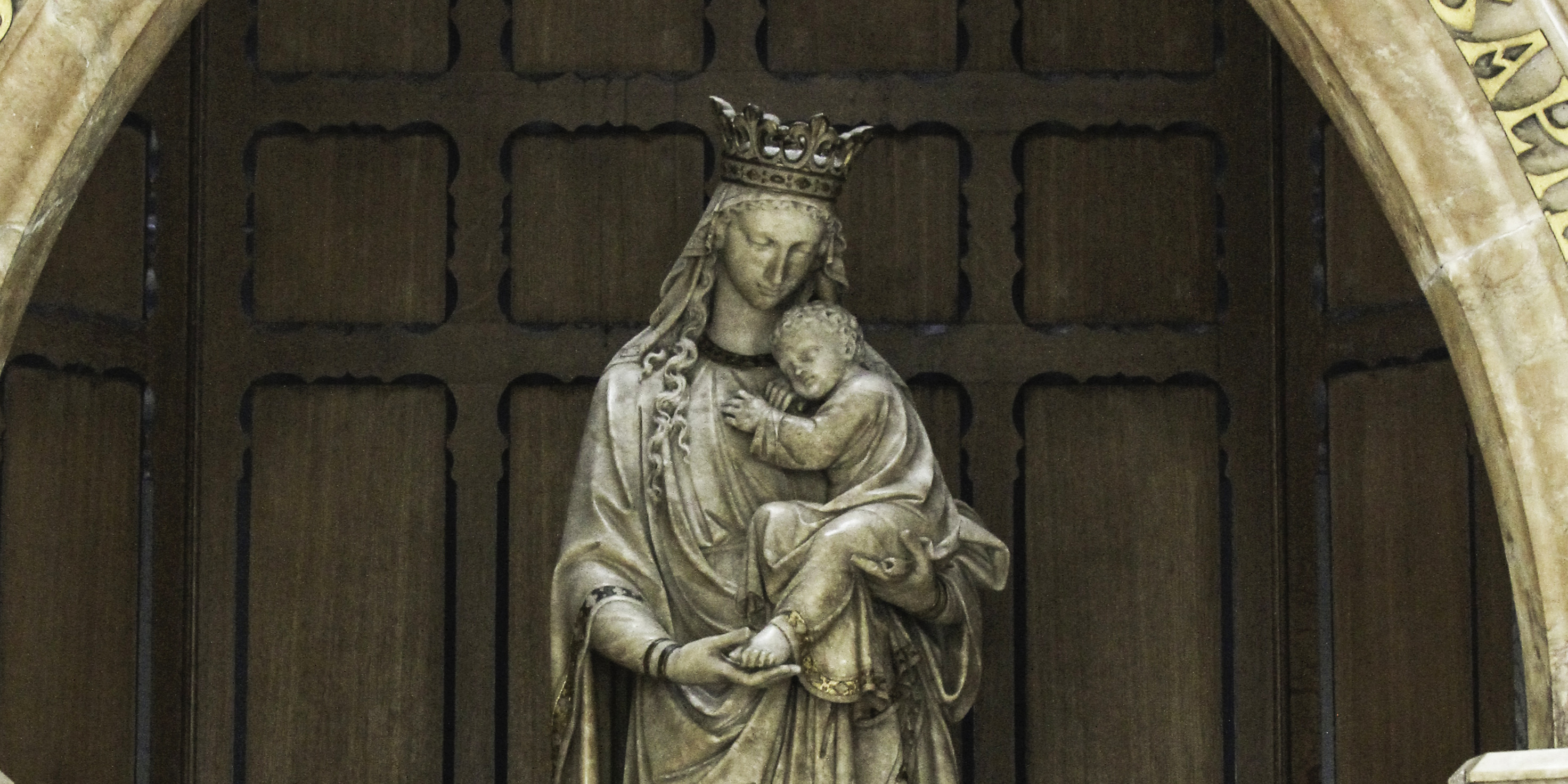 OUR LADY AS SEAT OF WISDOM
