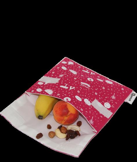 Pochette en tissu pour gouter zéro déchet