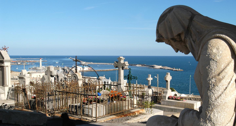 Cimetière marin de la ville de Sète