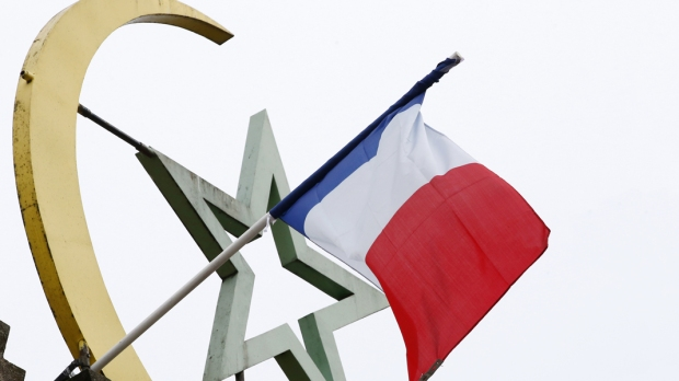 French Flag Mosque