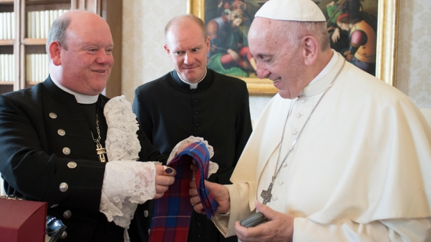 Pope Francis Derek Browning