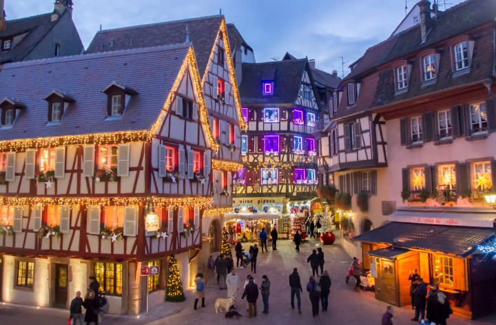 Le marché de Noël de Colmar en Alsace