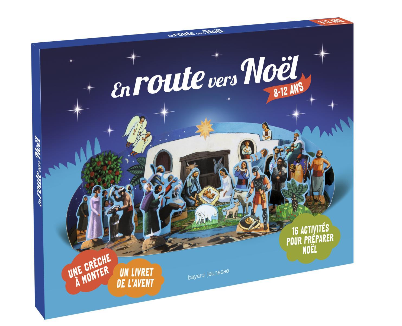 couverture livre En route vers Noël 8-12 ans Bayard Jeunesse