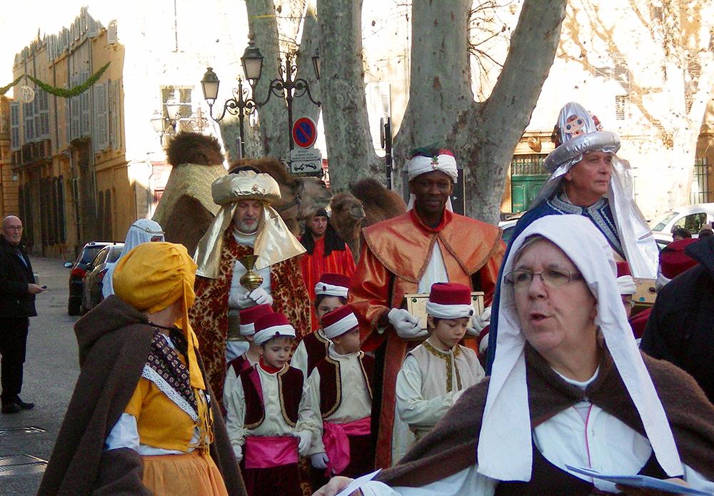 Marche des rois à Aix en Provence