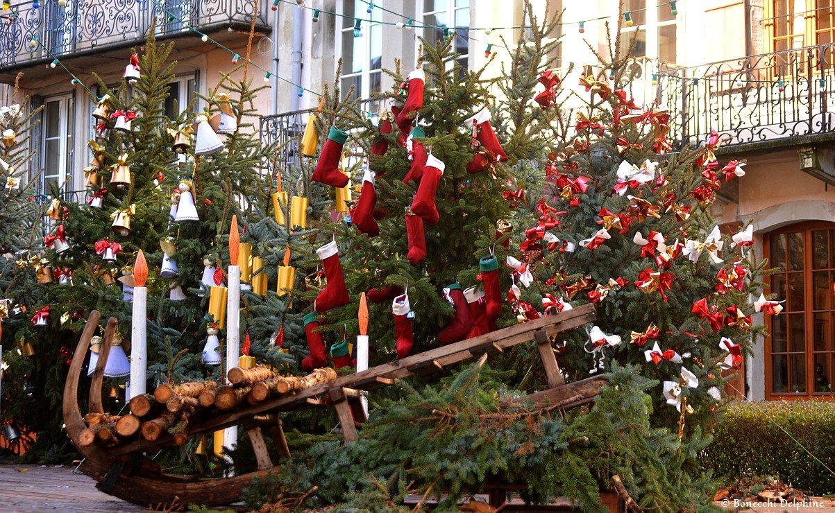 Le marché de Noël de Plombières-les-Bains dans les Vosges