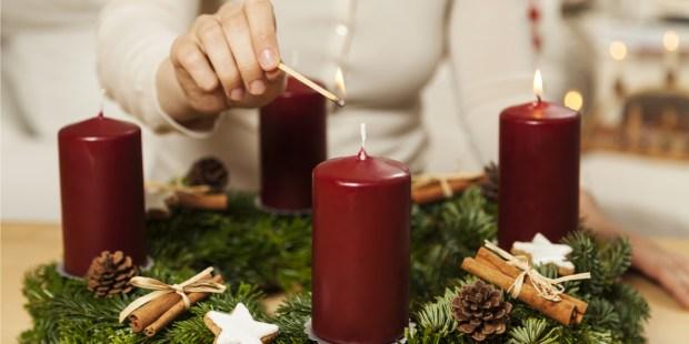 Bougies de l'Avent