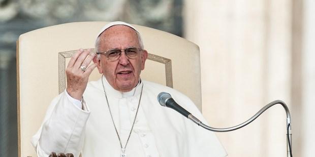POPE MASS 30 mars 2016, prêche du pape François lors de l'audience générale au Vatican, Rome, Italie.