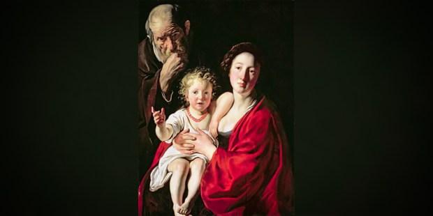 Jacob Jordaens (1593–1678) - The Holy Family