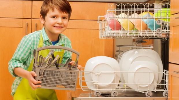 BOY DISHWASHER
