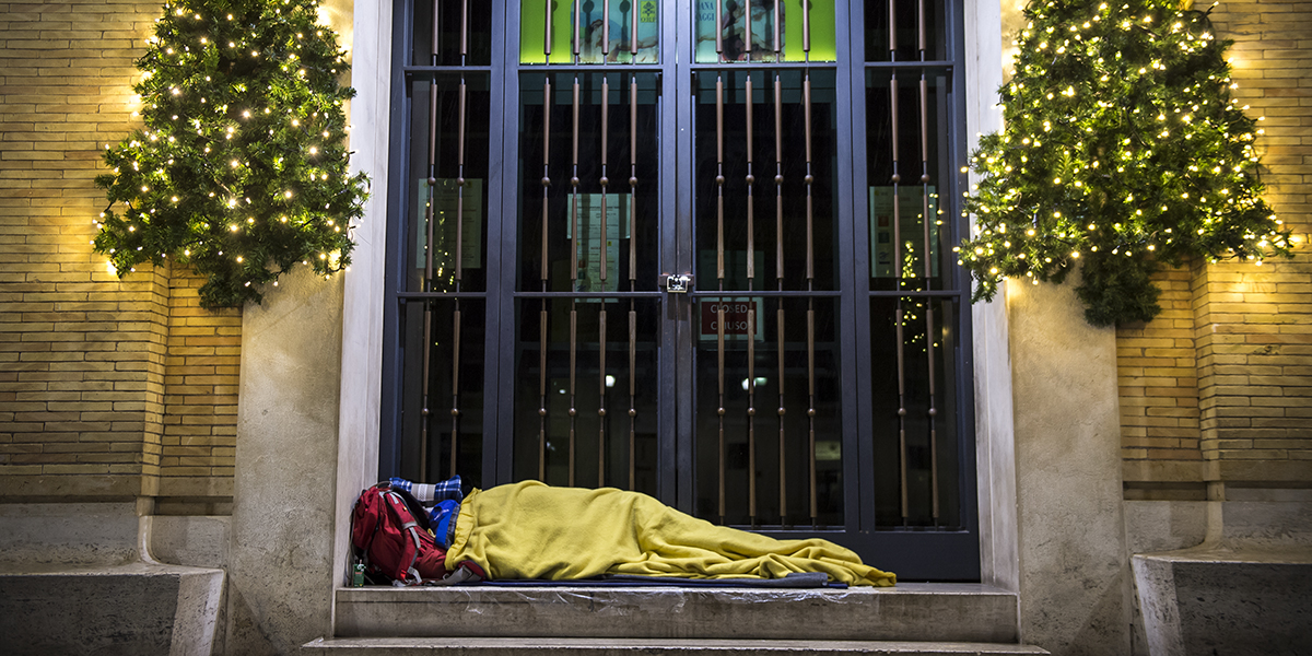 Homeless Vatican