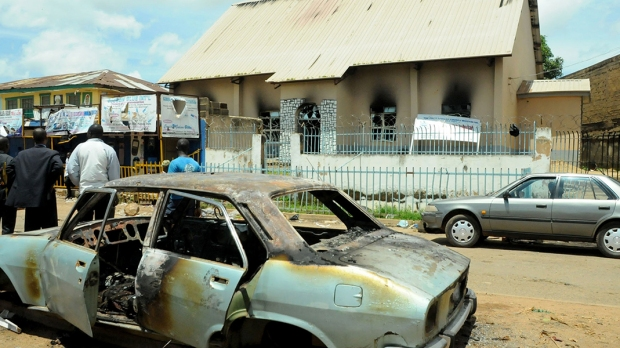Church Bomb attacks in Nigeria