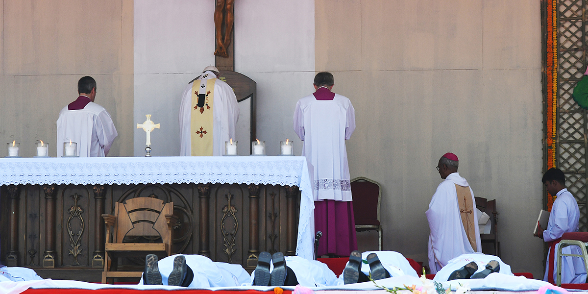 Pope Francis Bangladeshi Christian