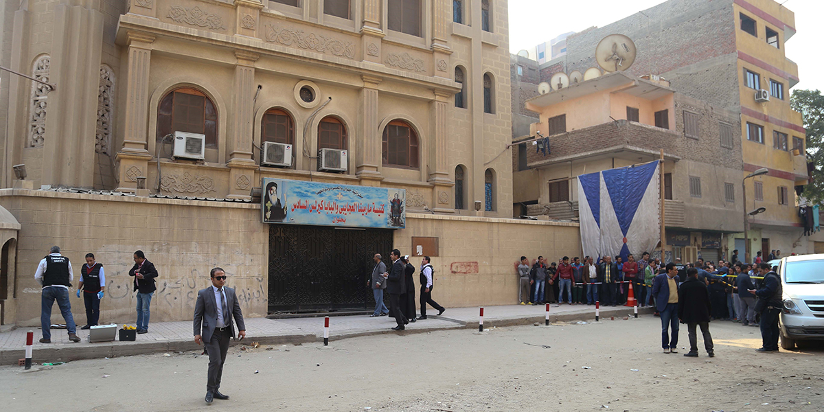 Marminna Church in Cairo attack