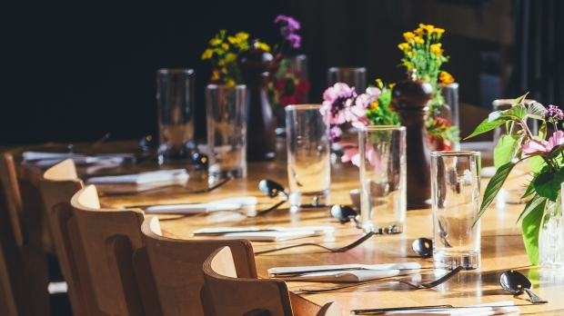 TABLE DRESSED