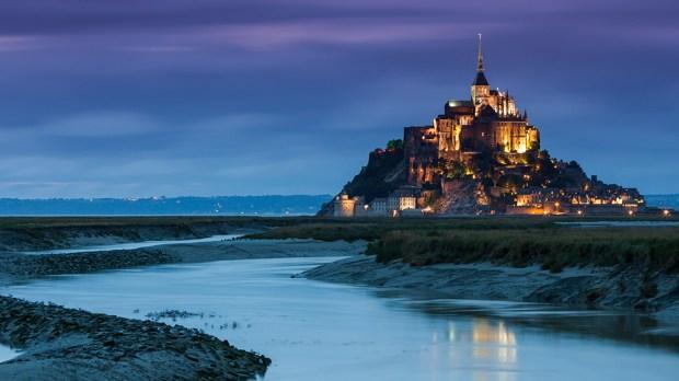 Mont Saint-Michel mountain
