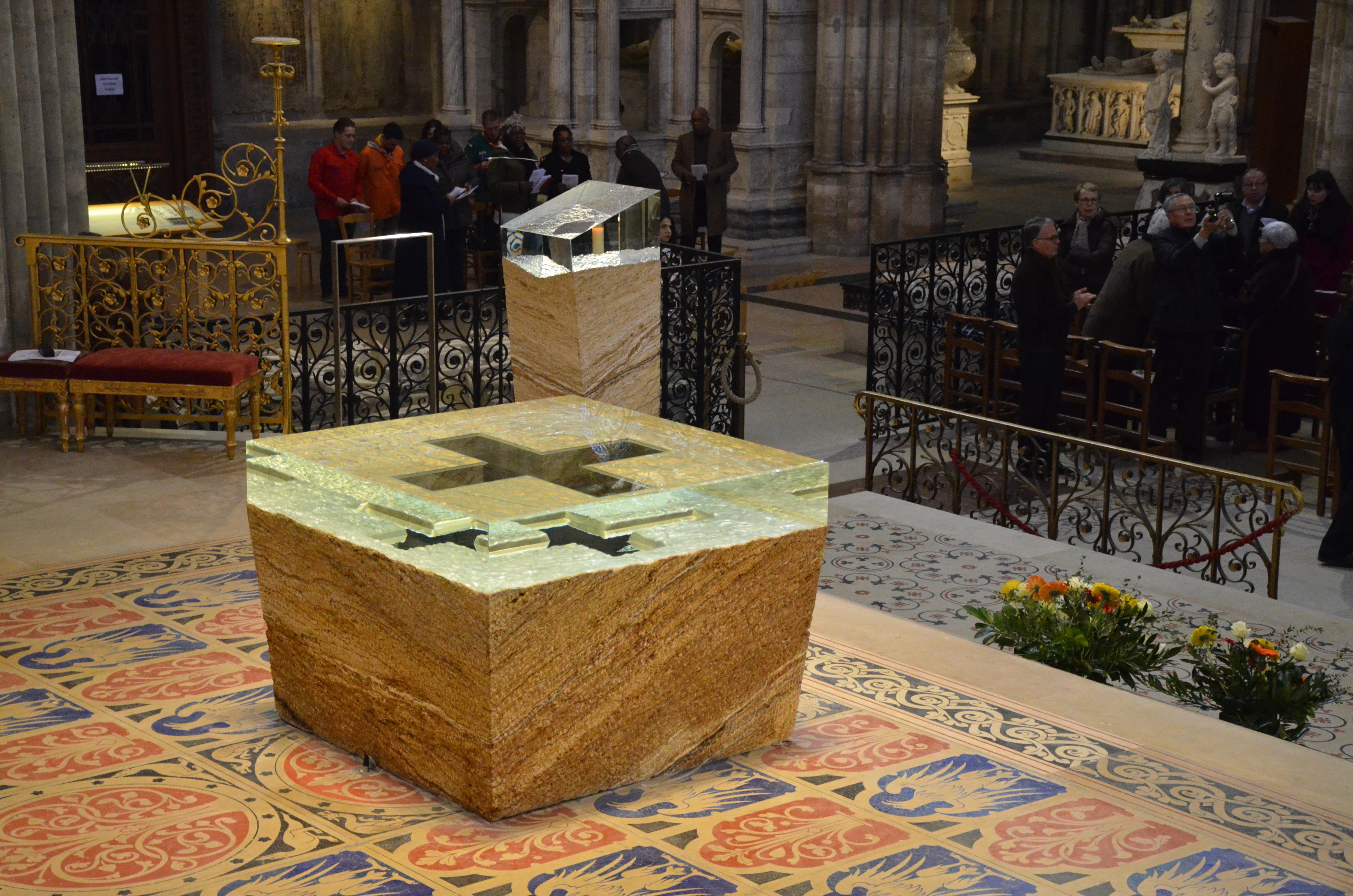 autel basilique saint Denis 2018