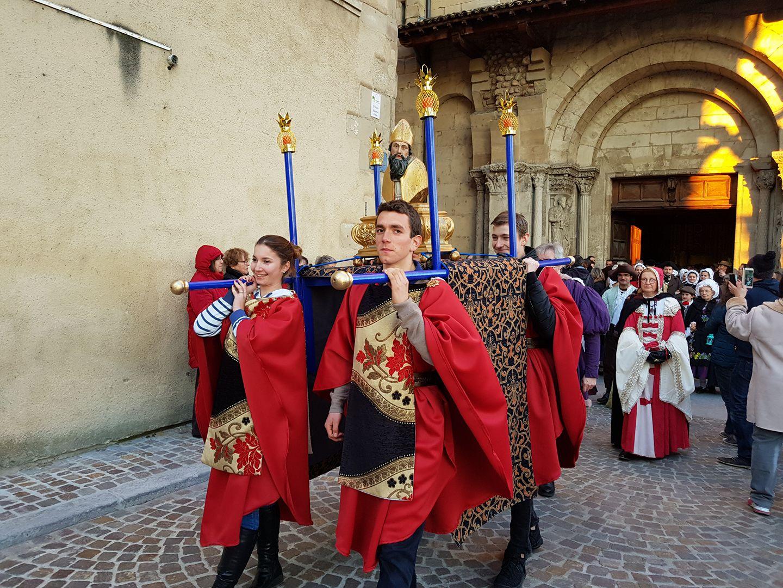 Procession Saint Basnard Romans Isère