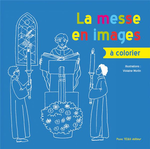 La messe en images à colorier