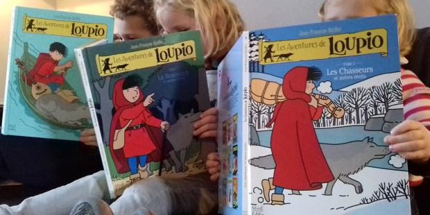 Jeunes lecteurs de Loupio