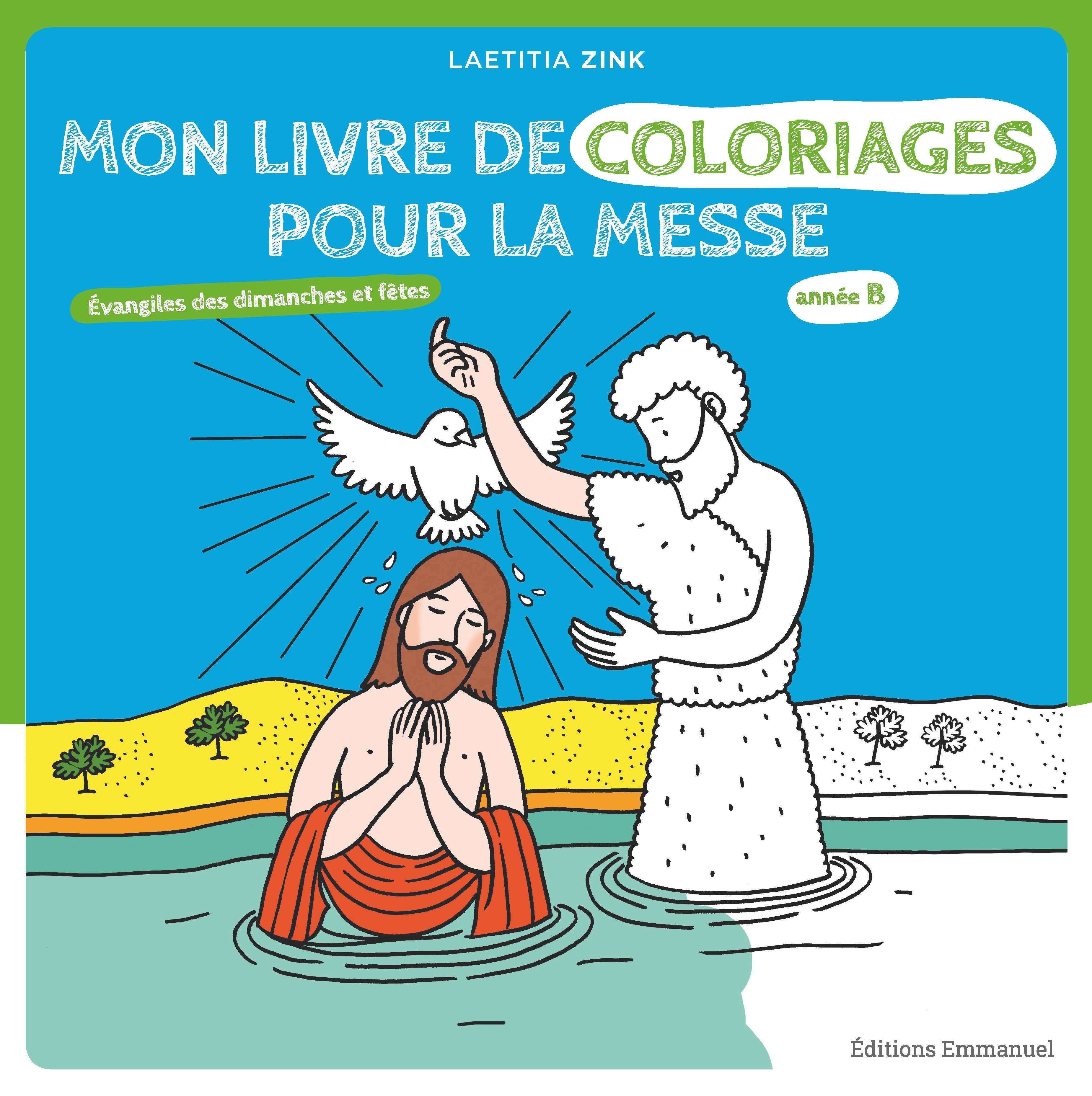 Mon livre de coloriages pour la messe