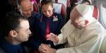 POPE FRANCIS,PLANE,MARRIAGE
