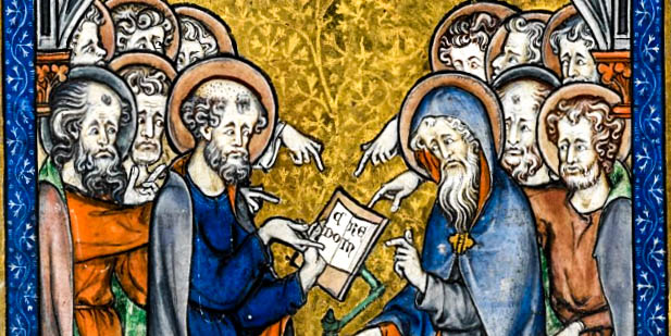 APOSTLES WRITING THE CREED