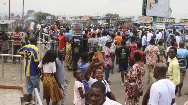 CONGO PROTEST