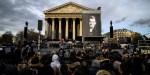 HALLYDAYW FRANCE MUSIC La Madeleine Church