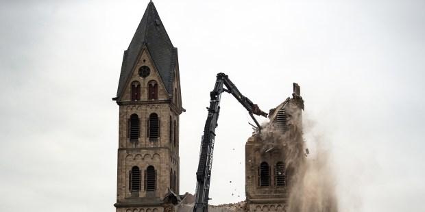 DEMOLITION CHURCH