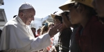 Lesbos Refugee Pope Francis